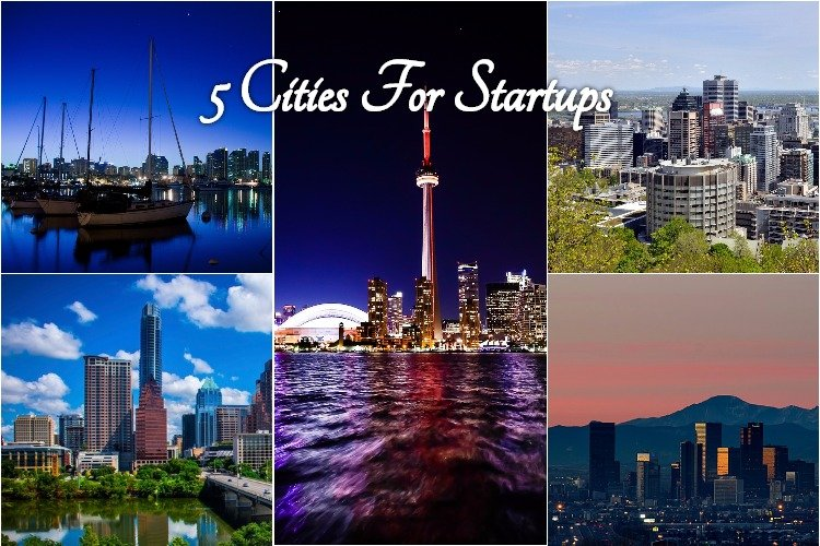 5 Of The Best Cities For Startups